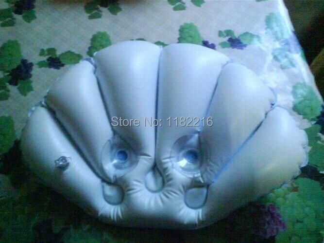 Opblaasbaar Bad Badkamer : Badkamer supply shell vorm pvc opblaasbare bad kussens zuignappen