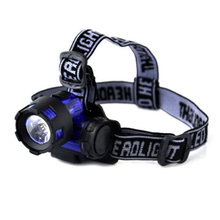 2000 Lumens Waterproof  XM-L XML T6 LED Headlamps Flashlight Head Torch Lights for Outdoor Camping Traveling Hiking Fishing