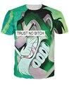 Trust No Perra Scar T-Shirt Rey León 3d impresión unisex mujeres hombres camiseta de verano de manga corta outwear tops tee
