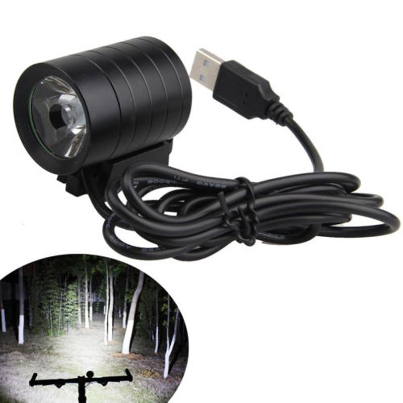 Waterproof  5000LM XM-L L2 T6 USB LED Headlight Bicycle Bike Light 4 Mode IP65 lantern xm l 5x t6 bicycle light headlight 7000 lumen led bike light lamp headlamp 8 4v charger waterproof battery box