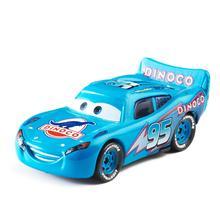 Disney Pixar Cars 3 New Blue Lightning McQueen Jackson Storm Mater 1:55 Diecast Metal Alloy Model Car Toy Children Gift Boys disney pixar cars 3 lightning mc queen blue jackson storm mater 1 55 diecast metal alloy model car toy children gift boys
