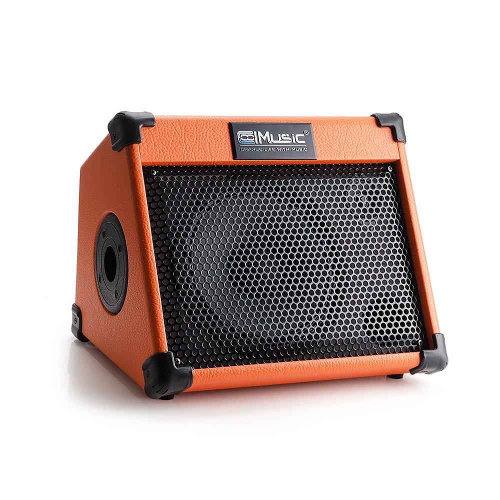 Coolmusic AC20 20W Bluetooth clavier amplificateur de guitare acoustique