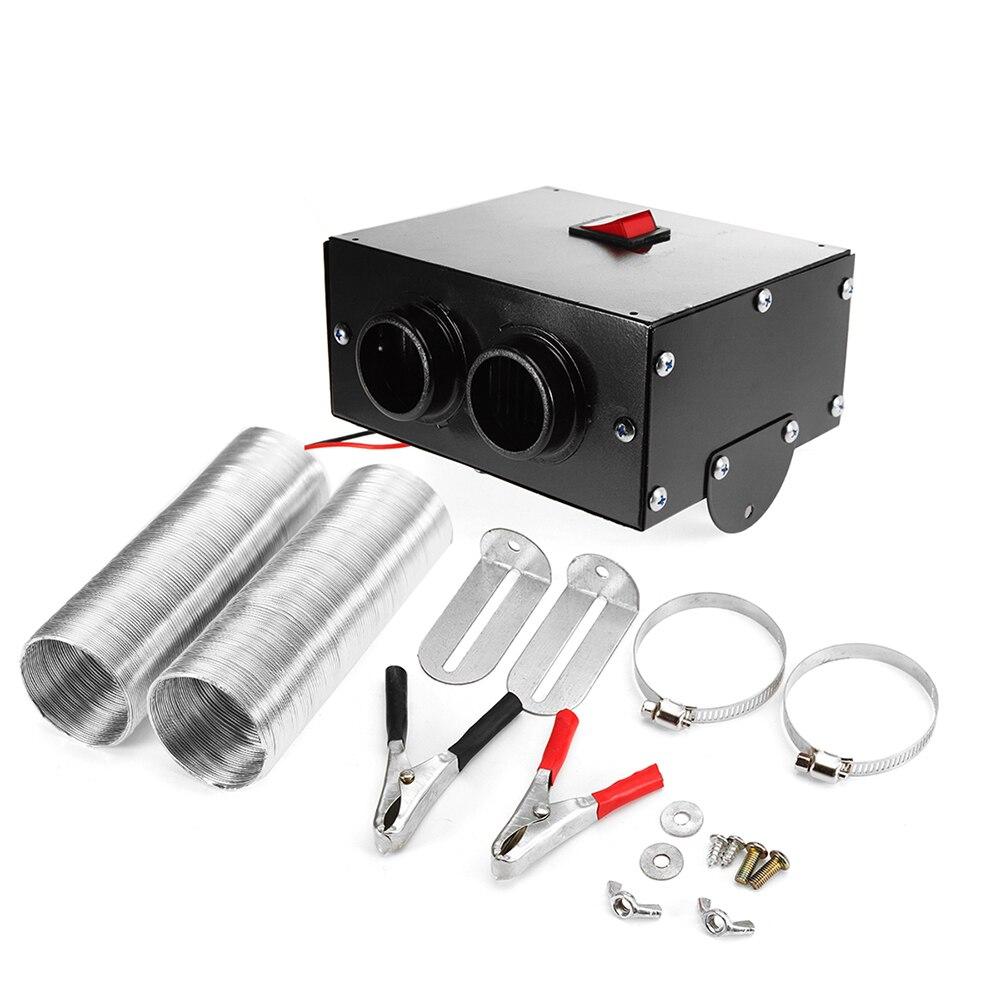 Chauffage de voiture 500 W 12 V voiture camion ventilateur chauffage plus chaud pare-brise dégivreur désembuage ventilateur