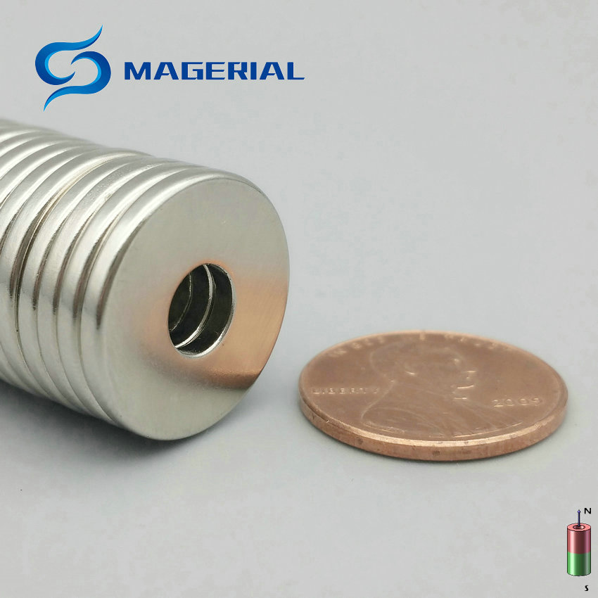 1 Pack NdFeB Magnet Ring Dia 18.5x6x2 mm N42M 100 Degree C Thin Axially Magnetized Strong Neodymium Permanent Rare Earth Magnets 1 pack grade n38 ndfeb micro ring diameter od 9 5x4x0 95 mm 0 37 strong axially magnetized nicuni coated rare earth magnet