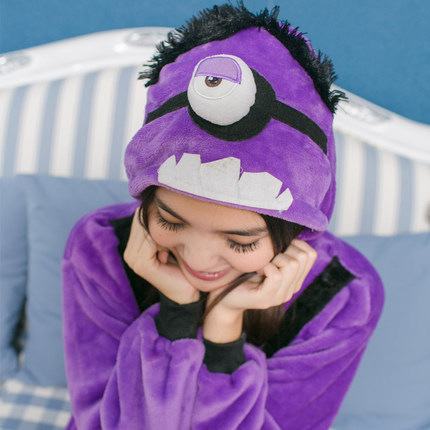 Cosplay Cartoon Purple Minions Adult Pajamas Unisex Caterpillar Jumpsuit Party Pyjamas Halloween Costume Stage Onesie & Cosplay Cartoon Purple Minions Adult Pajamas Unisex Caterpillar ...
