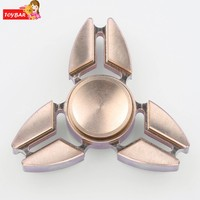 Arshiner 2017 New Hand Spinner Kids Toy Glowing Hand Spinner 360 Tri Fidget Desk Stress Reducer