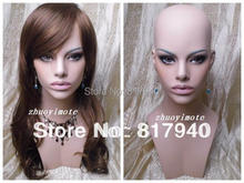 Fiberglass Realistic Female Mannequin Manikin Dummy Head Bust For Wigs Hat Sunglass Jewelry Display