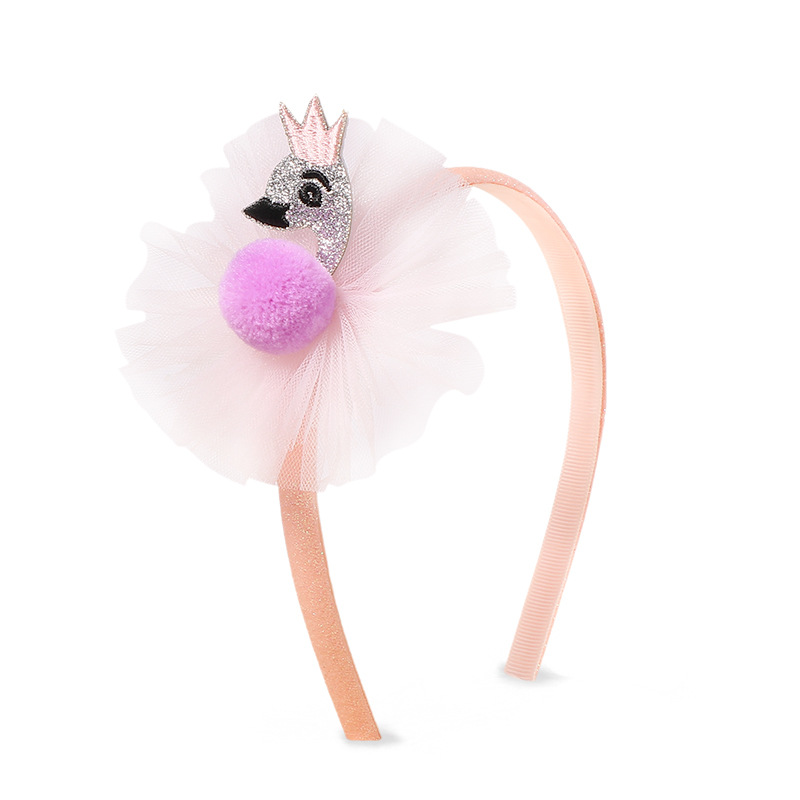 Glitter Flamingo Headband