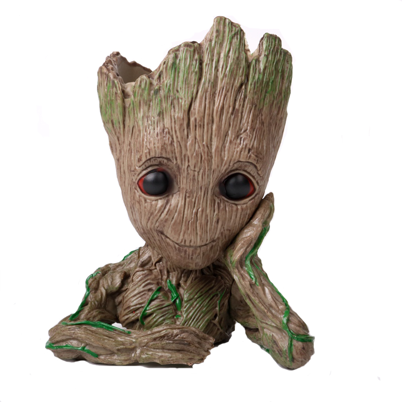 Guardians of the Galaxy Tree Grut Tree Pots Pen Holder Decoration Boxed Hand-held Model party gift