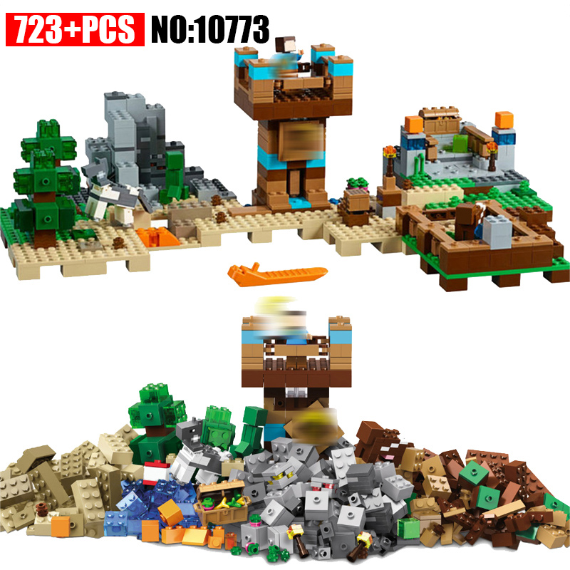 BELA 10733 the Crafting Box 2.0 Building Blocks Sets Bricks My worlds Movie Model Kids Toys For Children Compatible 21135 herbert george wells the war of the worlds