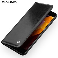 QIALINO For Xiaomi Mi6 Case Coque Classic Genuine Cowhide Leather Flip Elegant Cover For Xiomi Mi
