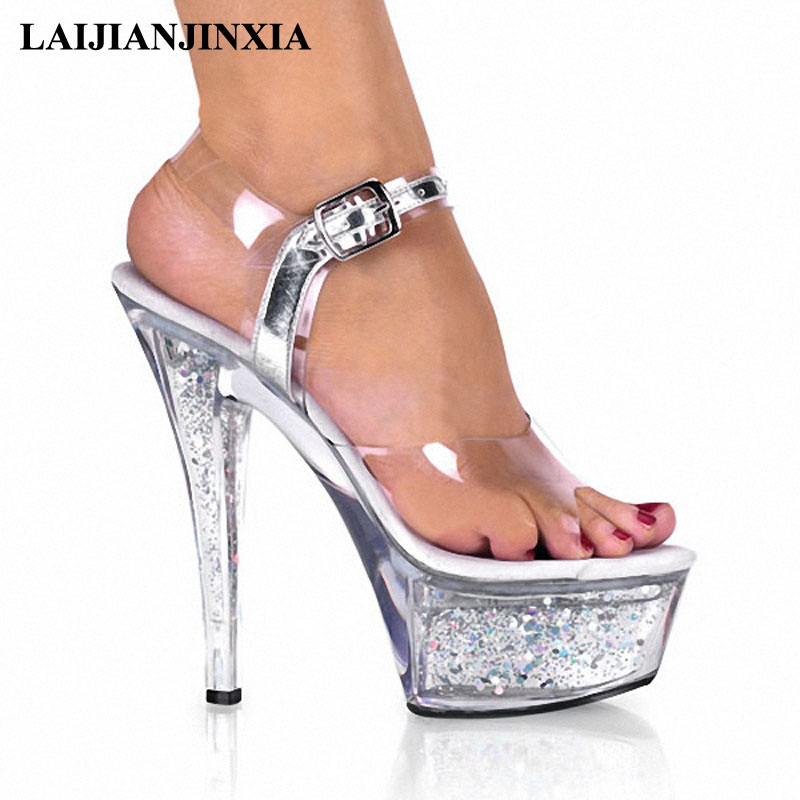 Flight Tracker Laijianjinxia 2018 New Women Pole Strap Dancing Shoes Platform 15cm High Heel Sandals Sexy Wedding Dance Pole Shoes To Ensure A Like-New Appearance Indefinably Office & School Supplies