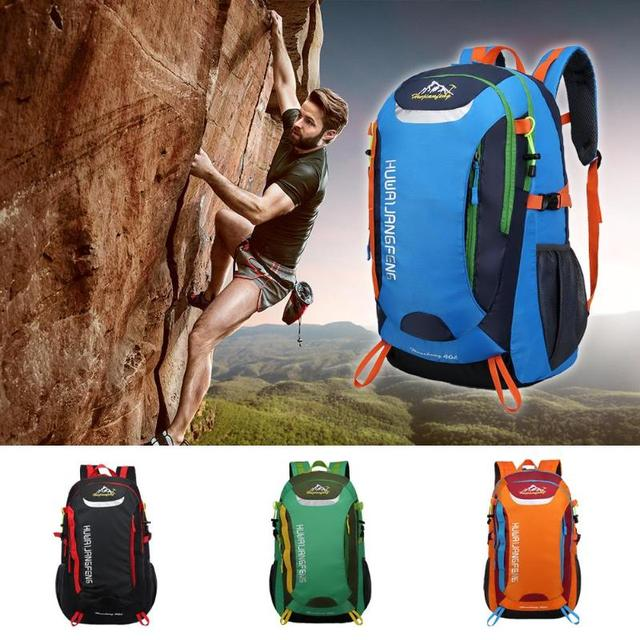 40L Waterproof Outdoor Backpack Sports Bag for Hiking Travel Mountaineering Rock Climbing Trekking Camping 1