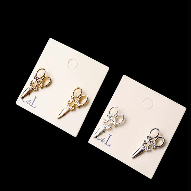 Fashion Woman Earrings Affordable Cute Edition Girl Beautiful Scissors Earrings Pair