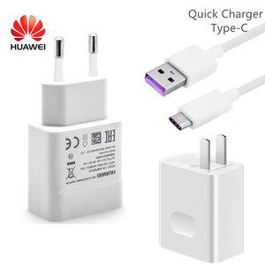 Image 2 - オリジナルhuawei社4.5v 5A過給急速充電器22.5ワット40 P20用プロP30 P40 liteメイト10メイト20 30プロ5Aタイプc ケーブル