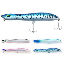 4 Color Hard Fishing Lure 14cm 26g Snake Head Bait Artificial Surface for