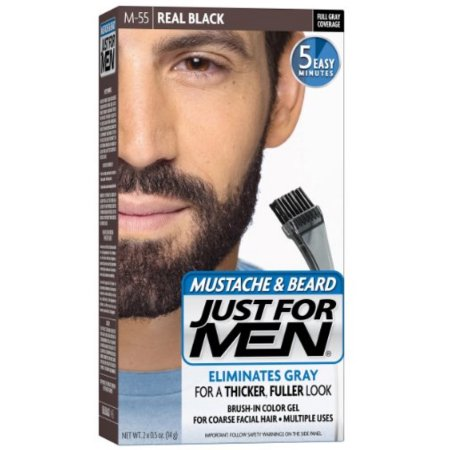 US $34.84 15% OFF JUST FOR MEN Color Gel Mustache & Beard-in Massage &  Relaxation from Beauty & Health on AliExpress