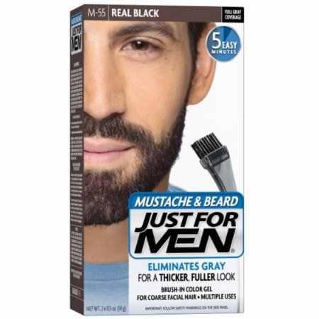 JUST FOR MEN Color Gel Mustache & Beard