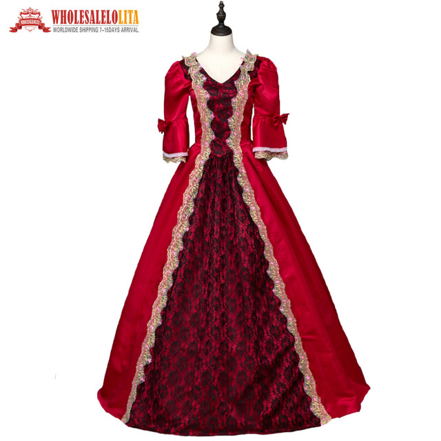 Aliexpress.com : Buy Top Sale Renaissance Georgian Period Masquerade ...