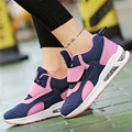 Outdoor Women Wedge Increase height Casual Walking shoes Air cushion cushioning Fashion leather Fashion size 35-40 zapatos mujer
