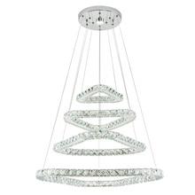 Modern Crystal Ceiling Lights triangle Design Led Hang Lamp Loft Plafonnier for Living Room Lamparas De Techo