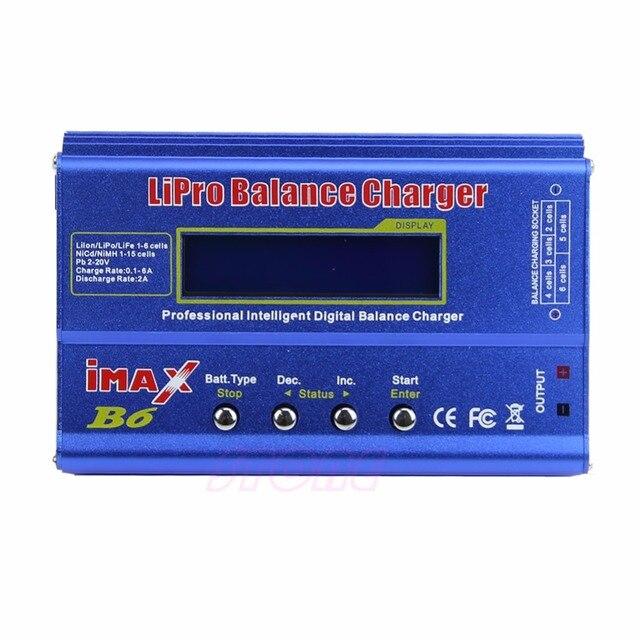 IMAX B6 ca Lipo NiMh Li-ion ni-cd RC chargeur déquilibre de batterie déchargeur prise ue livraison directe