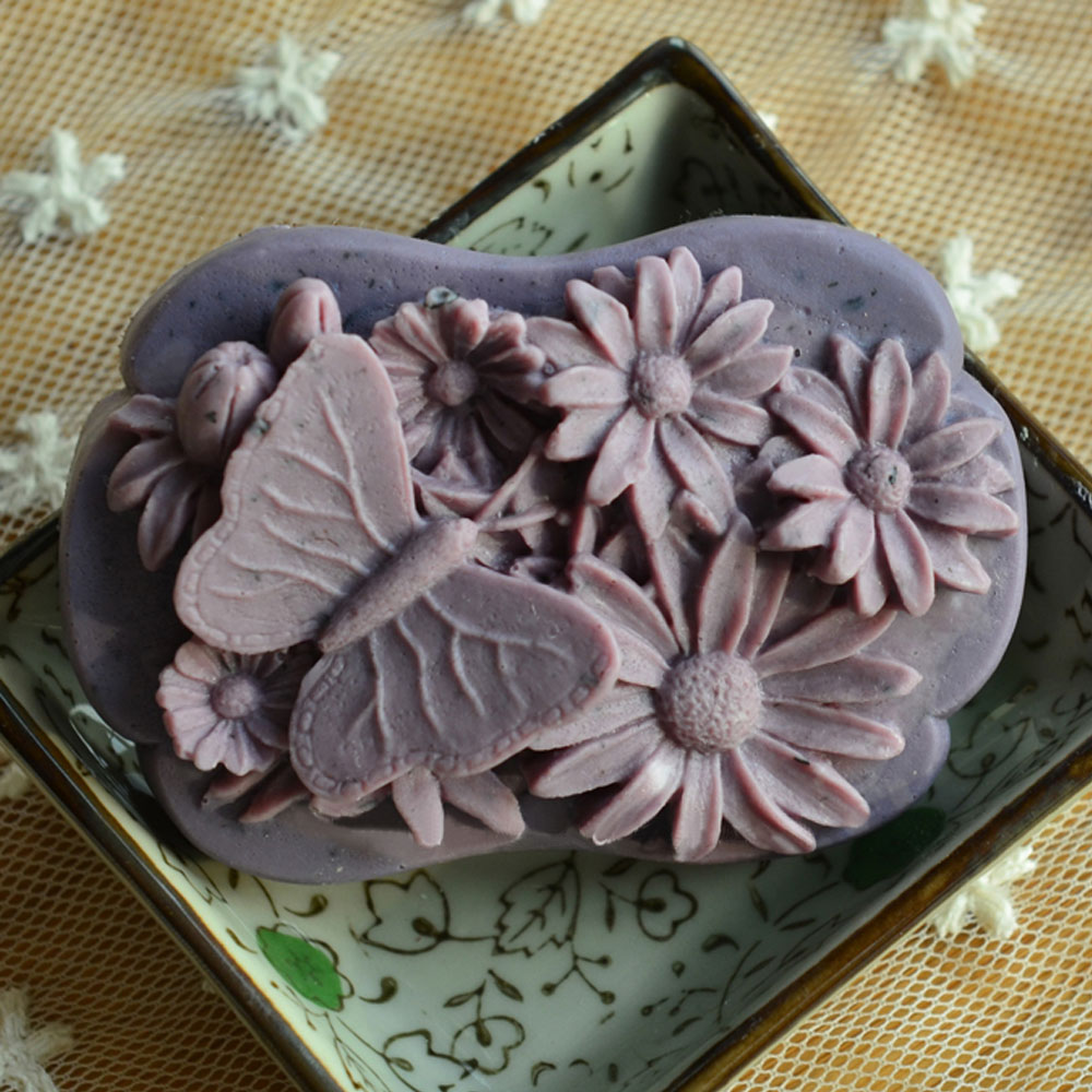 Soap Mold Candle Mould Silicone Molds Handmade Soap making Tools Diy Butterfly