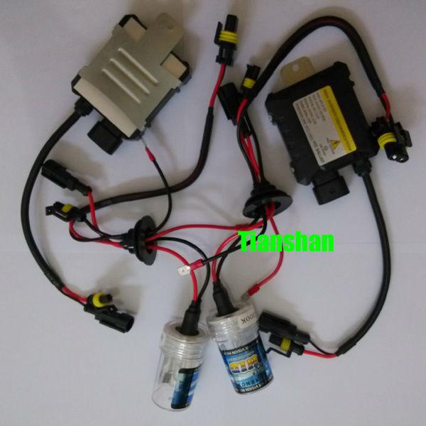 H1 8000K Blue White 55W Slim Ballast Xenon HID Fog Driving Lights//Low Headlights