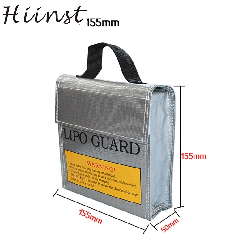 Hiinst High quality LiPo Li-Po Battery Fireproof Safety Guard Safe Bag 5*50*5MM partes OCT24