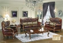 2017, распродажа новое кресло диваны для Гостиная Роскошные евро классический диван с Чай Таблица доставки в Монреаль Бесплатная доставка!