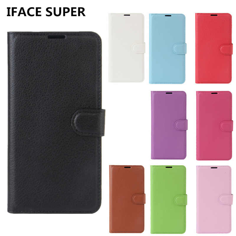 Huawei Y5 Lite 2018 Case Flip Wallet Leather Phone Case For
