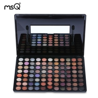 MSQ 88 Color Professional Make Up Eye Shadow Makeup Long Lasting Natura Compact Eyeshadow Waterproof With