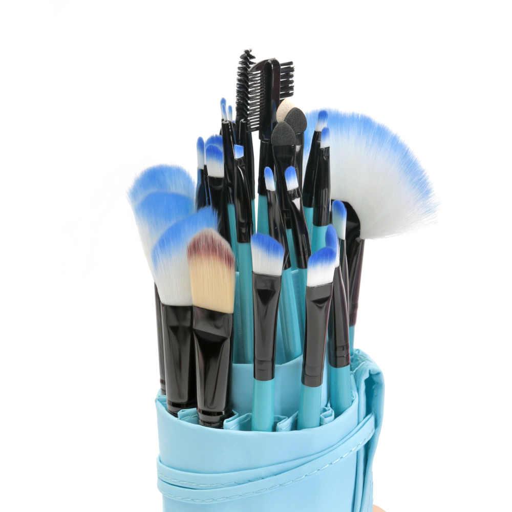 VANDER 32 Pcs Pincéis de Maquiagem Conjunto Kit Escova Cosmética Fundação Sombra Delineador Sobrancelha Lip Make Up Tools com Saco Bolsa