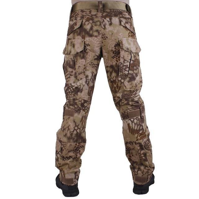 G2 Army Uniform BDU Military Tactical Combat Shirt Pants Suit Men Kryptek Highlander Camouflage Airsoft Sniper Hunting Clothes 6