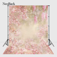 NeoBack 3x5ft 5x5ft Thin Vinyl Photography Backdrop Fantasy Floral Customs Photo Prop Backgrounds P1326