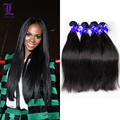Indian Virgin Hair Straight Remy Queen Hair Products 4 Bundles Natural Black 8A Unprocessed Human Hair No Tangle And No Shedding