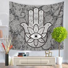 Фотография New India mandala tapestry wall hanging exotic wind printing home Tapestry Wall beach towel blanket 150*130cm 150*200cm