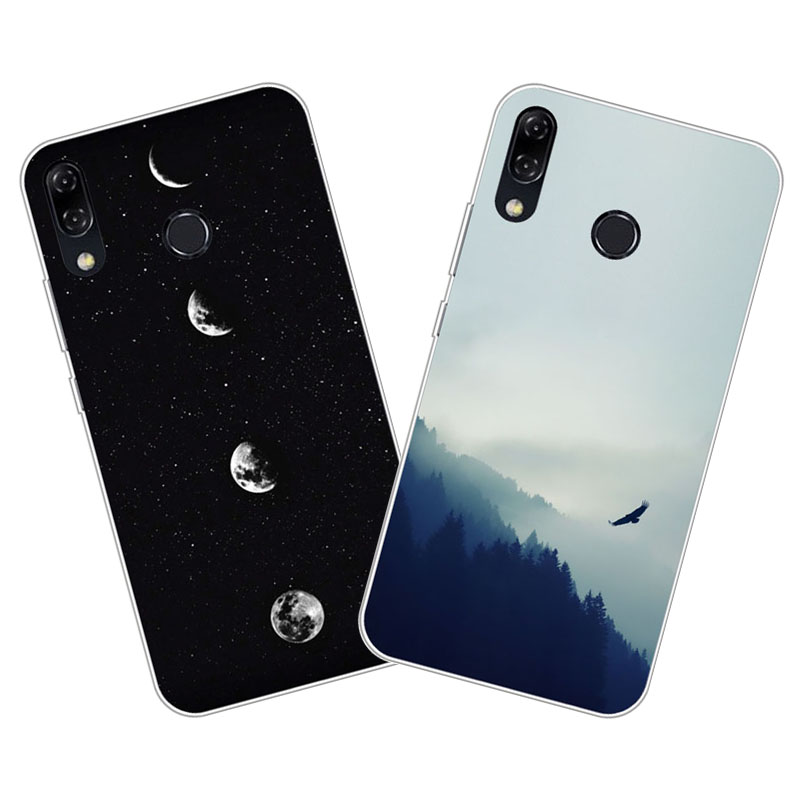 Asus Zenfone 5 ZE620KL Case,Silicon Space scenery Painting Soft TPU Back Cover for Asus Zenfone 5Z ZS620KL Phone protect cases