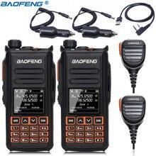 2pcs Baofeng DM X GPS מכשיר קשר כפול זמן חריץ DMR דיגיטלי/אנלוגי DMR מהדר שדרוג של DM 1702 חזיר נייד רדיו