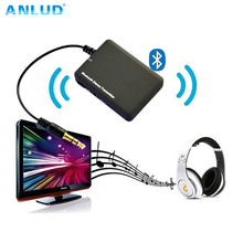 Bluetooth Inalámbrico Transmite Mini Transmisor de Audio Bluetooth 3.5mm Estéreo A2DP Dongle del Adaptador para iPod TV Mp3 Mp4 Altavoz de la PC