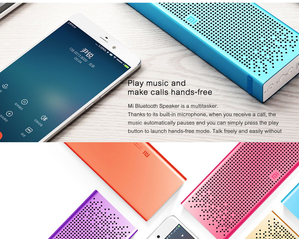 Original Xiaomi Mi Bluetooth Speaker Stereo Wireless Mini Portable Bluetooth Speakers Music MP3 Player Support Handsfree TF Card ok (3)