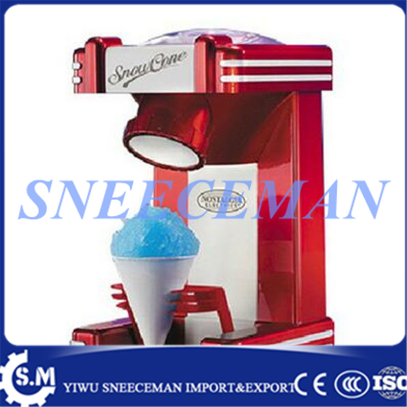 household electric snowflake ice machine commercial cheaper ice crusher making machine ice sand maker