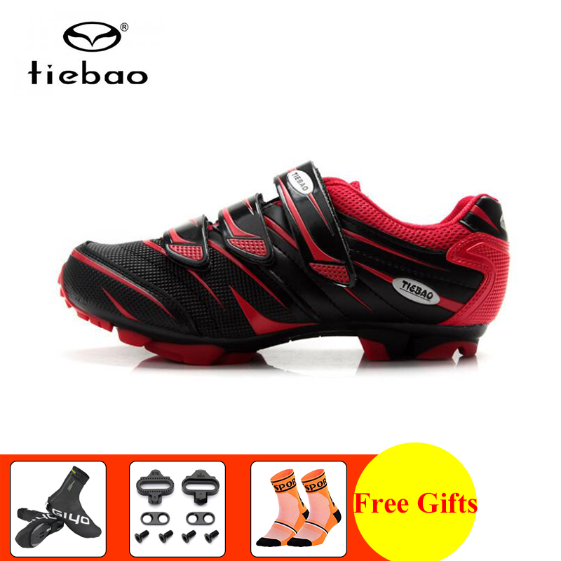 TIEBAO cycling shoes men sapatilha ciclismo mtb mountain bike women Shoes cover self-locking Athletic riding bicycle sneakersTIEBAO cycling shoes men sapatilha ciclismo mtb mountain bike women Shoes cover self-locking Athletic riding bicycle sneakers