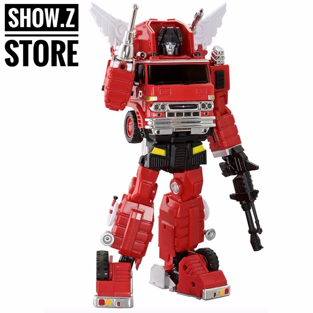 [Show.Z Store] Mastermind Creations MMC Ocular Max PS-03 Backdraft Inferno PS 03 PS03 Firetruck Transformation Action Figure cristian castro queretaro