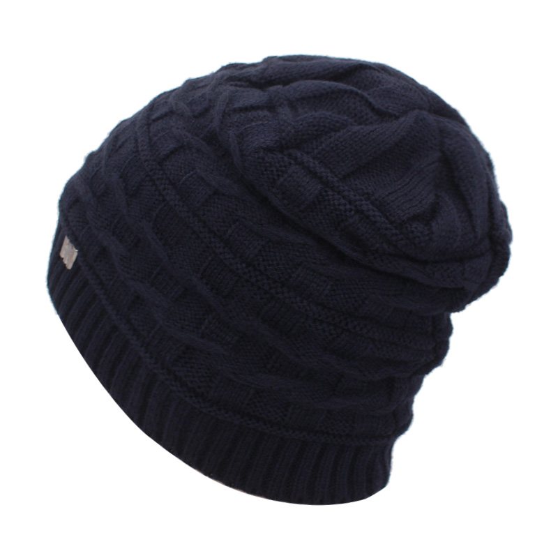 5fc6d029691 YOUBOME Skullies Beanies Winter Hats For Women Knitted Hat Men Famale  Gorras Baggy Winter Beanie Hat Warm Soft Knitting Hat Caps-in Skullies    Beanies from ...