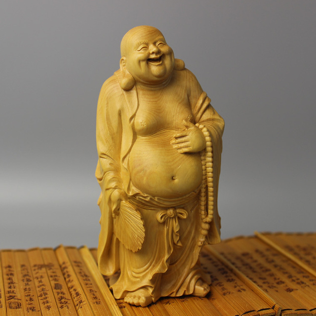 The goods yueqing boxwood carvings carving crafts gifts home cars