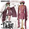 Hot New Senbonzakura Vocaloid Hatsune Miku Cosplay Costume Cosplay Army Uniform Free Shipping