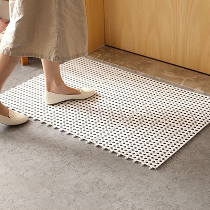 IVYSHION Anti Slip Bathroom Mat Kitchen Bath Mats Shower ...