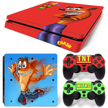 Crash Bandicoot PS4 Slim Skin Sticker Cover Wrap