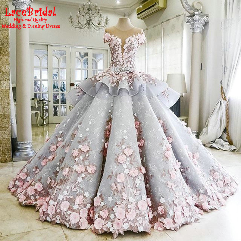 Popular Grey and Pink Wedding Dresses-Buy Cheap Grey and Pink ...